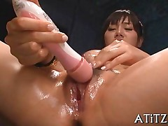 big tits blowjob hardcore sucking asian japanese oral toy vibrator
