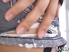 anal blowjob hardcore teen asian closeup japanese stockings shaving