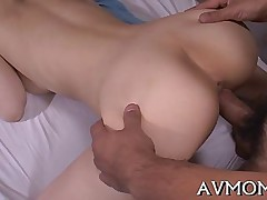 fucking asian closeup doggystyle