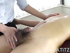 sucking asian oil oral