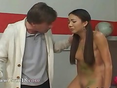 banging teacher pigtail