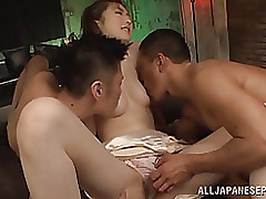 haneda cute chinese adolescent enjoys dualistic snakes blowjob fisting hardcore