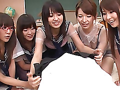 japanese pattern facefucking blowjob group sex handjob pov gang bang