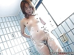 accustomed hawt eastern caught camera enchanting shower room hirsute pussy