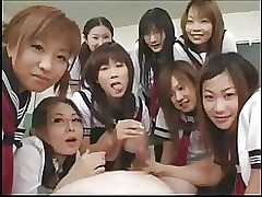 chinese school beauties making tutor asian group sex