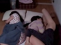cousin visited spectacular cousins stayed overnight asian blowjobs japanese voyeur