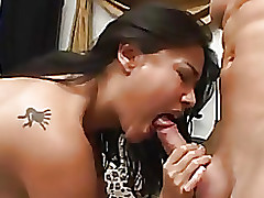 gorgeous oriental gf riding jock dick water gullet cock asian