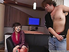 loutish knob dive right sex japan japanese stockings hardcore cumshot
