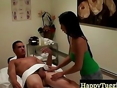 eastern masseuse makes stallion hungry asiansex massage cock stroking sexmassage