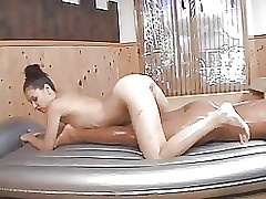 oil rubbing japanese massage asian hardcore masturbation