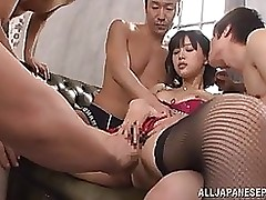 tsukasa aoi acquires admires dirty insertions cumshot group sex toys