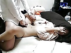 slutty japanese pair having shagg peep freak sexy stockings horny