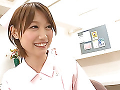 mio oichi eastern nurse beauty blowjob cumshot hardcore milf stockings