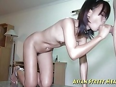 miniscule tittie thai hottie buggered botty anal asian small tits