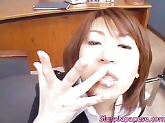 super clammy oriental princesses sucking smokin part1 slurpjapanese japaneseslurp doll
